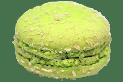 macaron-coco-citron-vert